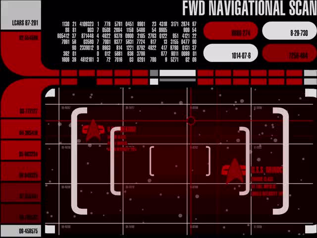 Watch LCARS - FWD Navigational Scan - Red Alert GIF on Gfycat. Discover more related GIFs on Gfycat