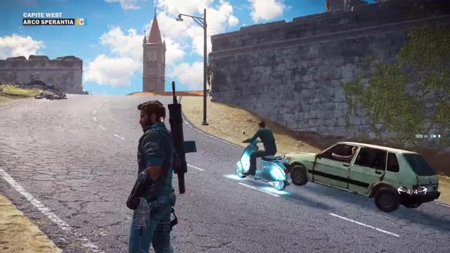 Watch Tethering the weels together to launch a scooter GIF on Gfycat. Discover more Just cause, gaming, scooter GIFs on Gfycat