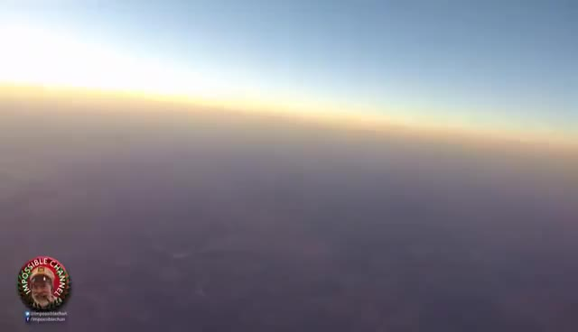 Watch and share MUST SEE! Night Time Balloon Hits Dome At 115.000 Ft !!!!? (FLAT OR GLOBE EARTH?) GIFs on Gfycat