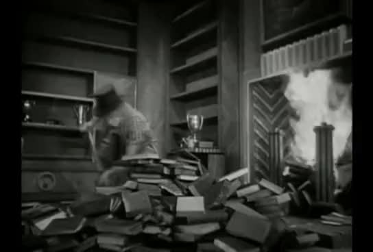 Watch Marx Brothers burning books GIF on Gfycat. Discover more All Tags, Harpo, Marx, books, brothers, burning, feathers, horse GIFs on Gfycat
