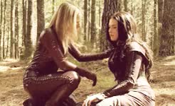 Watch and share Kahlan X Cara GIFs and Rare Pair GIFs on Gfycat