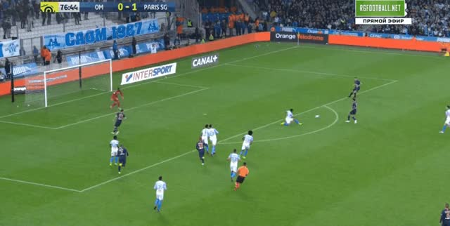 Watch and share Mandanda Save Vs PSG 18-19 GIFs by FIFPRO Stats on Gfycat