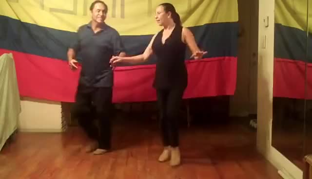 Watch and share Aprende A Bailar Cumbia GIFs on Gfycat