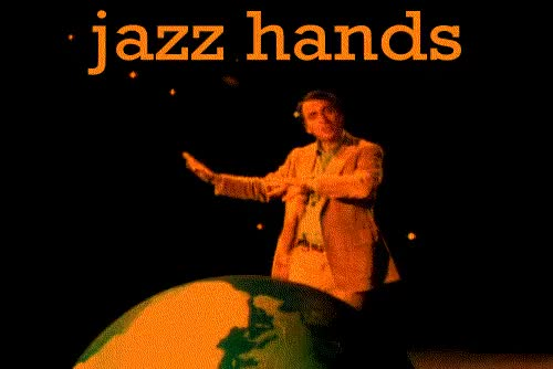 Watch this jazz hands GIF on Gfycat. Discover more jazz hands GIFs on Gfycat