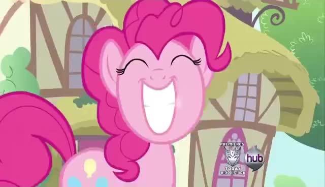 MLP, My little pony, Pinkie Pie, Smile Smile Smile, Smile Smile smile March GIFs