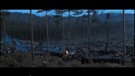 Watch and share Roman Legion Brings In Some Artillery Against The Barbarian Horde. [Gladiator Movie, 2000] GIFs on Gfycat