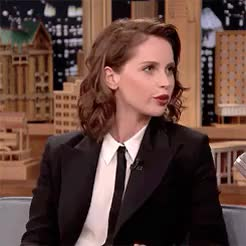 Watch and share The Tonight Show GIFs and Felicity Jones GIFs on Gfycat