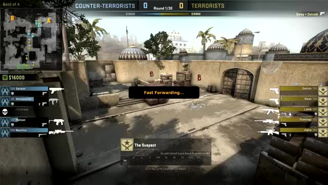 CSGO Overwatch Example of Aim Assist GIF | Find, Make