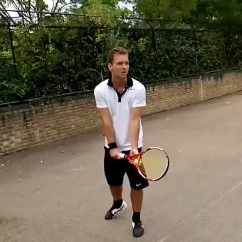 Watch and share Tennis Serve GIFs and Tennis Fail GIFs by magicman555 on Gfycat