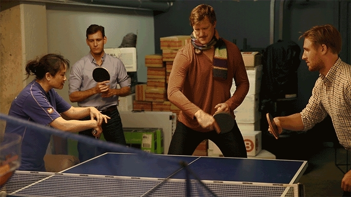 tabletennis, We take table tennis pretty seriously at the office and had a trainer come in today (reddit) GIFs