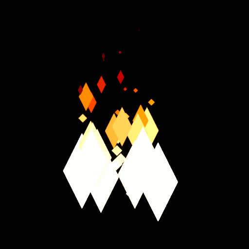blender, low_poly, Low Poly Fire GIFs