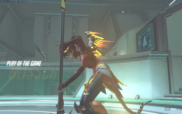Watch and share Play Of The Game GIFs and Overwatch GIFs by Blisschen (=^ェ^=) on Gfycat