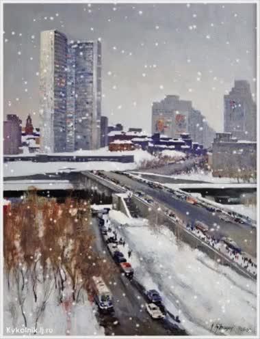 Watch and share Снегопад В Москве Moscow GIFs on Gfycat