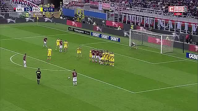 Watch and share Free Kick GIFs and Ac Milan GIFs by nanook on Gfycat