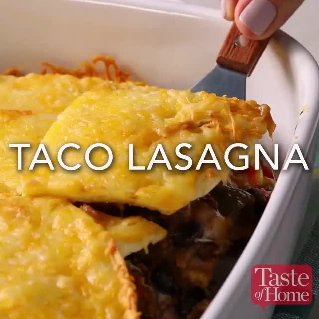 Watch Taco Lasagna GIF by @tasteofhome on Gfycat. Discover more chef, cooking, food, lasagna, mexican, taco, tasteofhome, tohfoodie GIFs on Gfycat