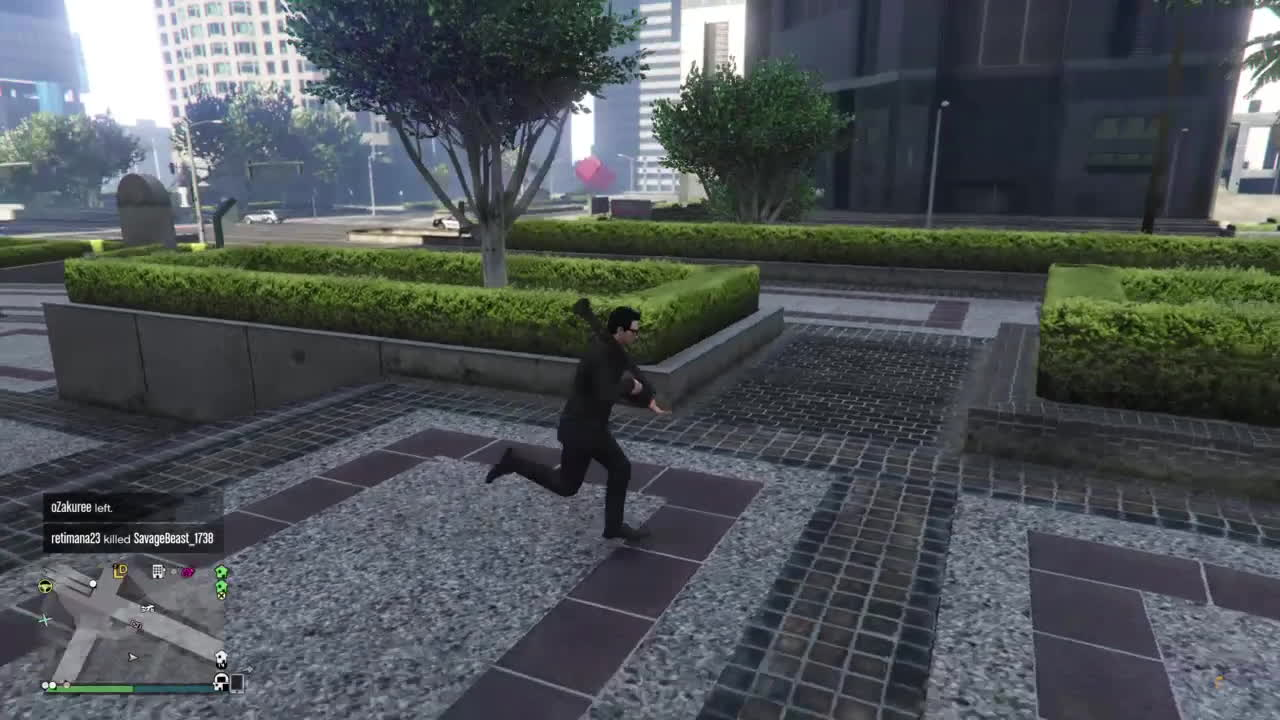 gta, ps4, Lucky escape GIFs