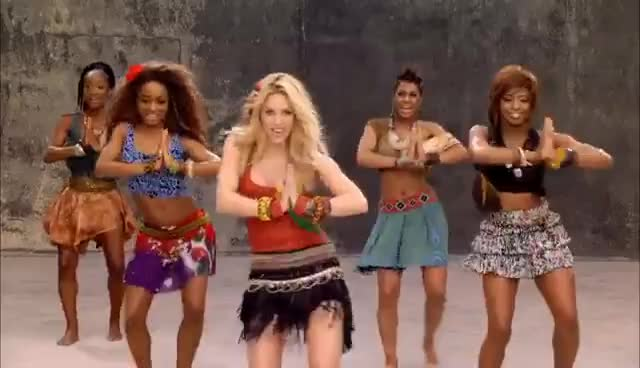 Waka Waka, Shakira GIFs