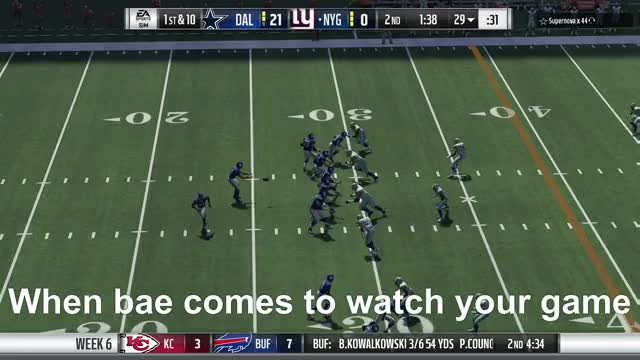 Watch this GIF by Xbox DVR (@xboxdvr) on Gfycat. Discover more Buffalo Bills, Dallas Cowboys, ItsMoistFartz, MaddenNFL18, football, xbox, xbox dvr, xbox one GIFs on Gfycat
