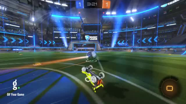 Watch Goal 3: diplomic LFA GIF by Gif Your Game (@gifyourgame) on Gfycat. Discover more Andy, Gif Your Game, GifYourGame, Rocket League, RocketLeague GIFs on Gfycat