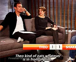 Watch Fangirla GIF on Gfycat. Discover more abnegation, alliegant, books, dauntless, divergent, factions, fandom, fangirl, four eaton, fourtris, insurgent, otp, shailene and theo, shailene woodley, sheo, theo james, tris prior GIFs on Gfycat