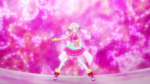 Watch Nono Hana - Cure Yell (HUGtto! Pretty Cure) GIF by Moonie (@moonieamv) on Gfycat. Discover more Cure Yell, HUGtto! Pretty Cure, Nono Hana, anime, precure GIFs on Gfycat