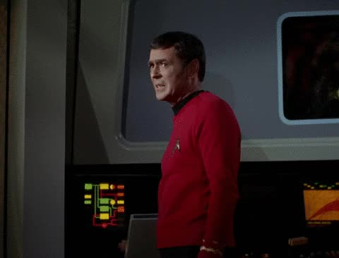 Watch this trending GIF by Star Trek gifs (@star-trek-gifs) on Gfycat. Discover more James Doohan, Montgomery Scott, Scotty, Star Trek, Star Trek The Original Series, TOS, The Original Series GIFs on Gfycat