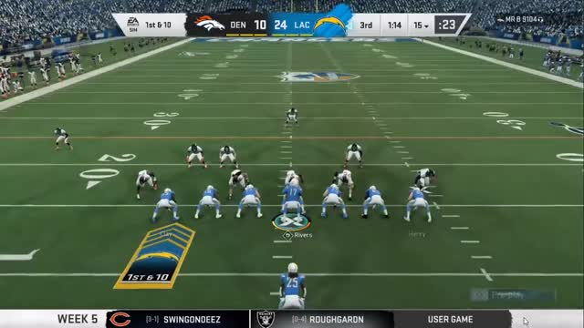 Watch and share NLOBK Chargers Vs Broncos Gordon GIFs on Gfycat