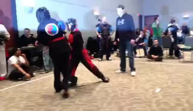 #gotigirlsrule, Insane Layne Toth Kickboxing GIFs