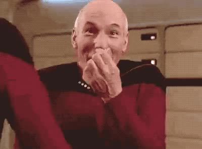 Watch this lol GIF by GIF Queen (@ioanna) on Gfycat. Discover more funny, god, hilarious, laugh, lol, loud, my, oh, omg, oops, out, patrick stewart, so, star, trek GIFs on Gfycat