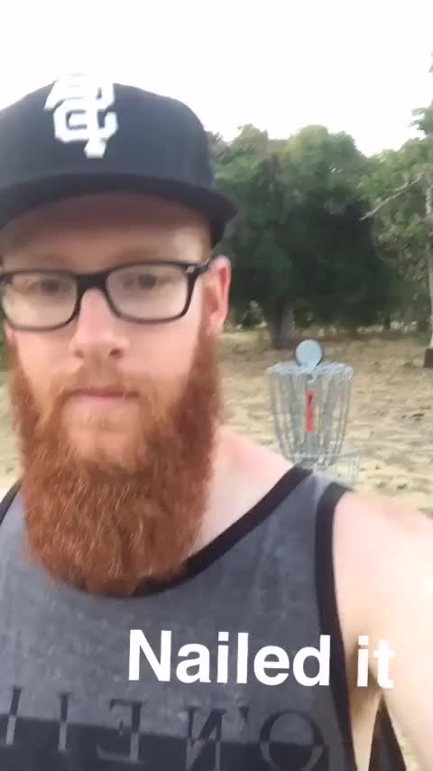 Watch No Look Putt FTW GIF by @vibewithn8 on Gfycat. Discover more discgolf GIFs on Gfycat