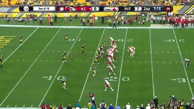 Watch and share  Chiefs QB Chad Henne Finds Rookie WR Mecole Hardman In The End Zone For The Touchdown GIFs on Gfycat