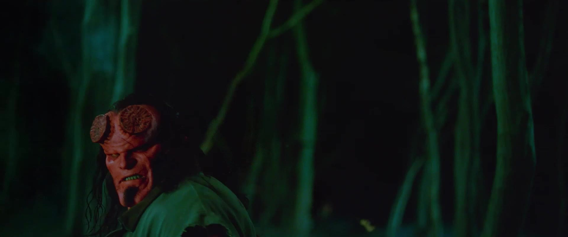 david harbour, gun, hellboy, hellboy 2019, hellboy movie, shots fired, superhero, superheroes, Hellboy Gun Shots Fired GIFs