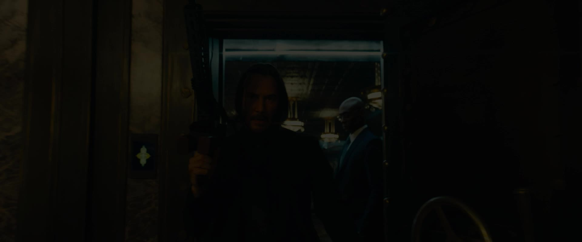 battle, gun, john wick, john wick 3, john wick chapter 3, john wick chapter 3 parabellum, keanu reeves, walking, John Wick Keanu Reeves Walking Into Battle GIFs