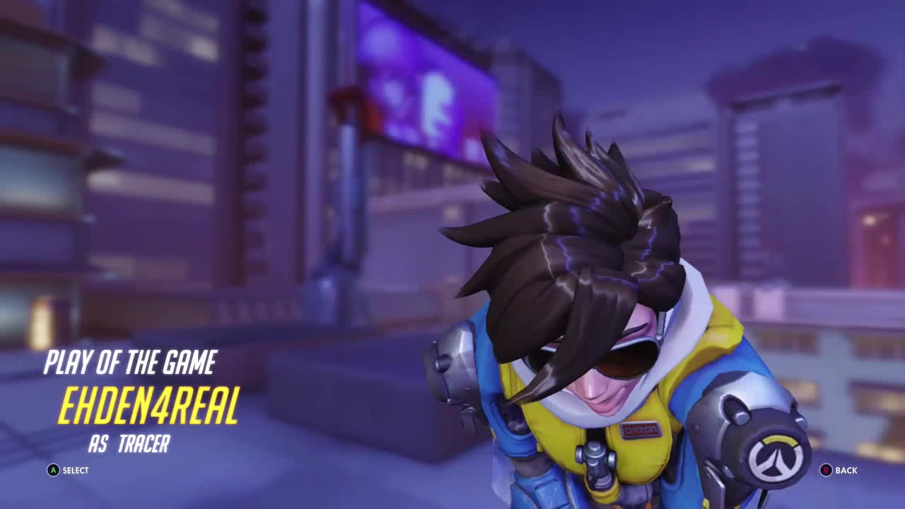 overwatch, tracer, ultimategifs, Flagrant Tracer 4K - with teabag GIFs