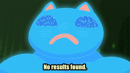 Watch and share God Of The Internet GIFs and No Results Found GIFs by Cartoon Hangover on Gfycat