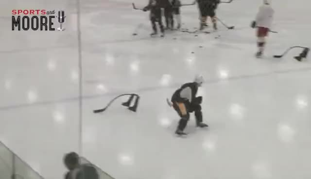 Sidney Crosby's final summer skate in Halifax