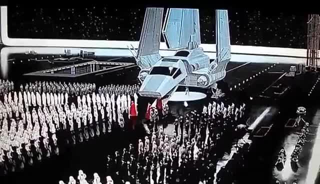 Watch emperor arrives GIF on Gfycat. Discover more star wars GIFs on Gfycat