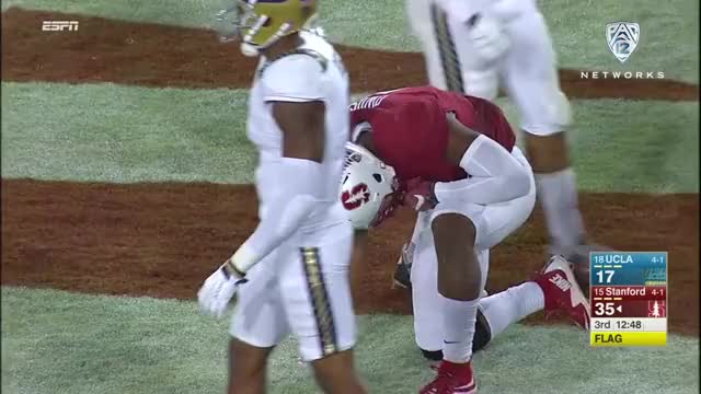 Watch and share Stanford Football GIFs and Francis Owusu GIFs by John D on Gfycat