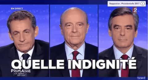 Sarkozy Quelle Indignite Gif Gfycat