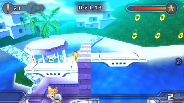 Watch and share Sonic The Hedgehog GIFs and Sonic Rivals 2 GIFs by AzureBeast on Gfycat