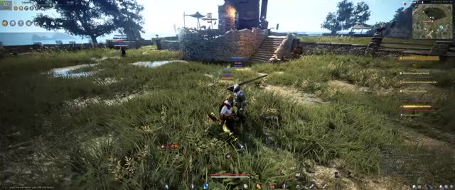 Watch and share Black Desert Online GIFs and Warrior Grapple Op GIFs by jetforcef22 on Gfycat