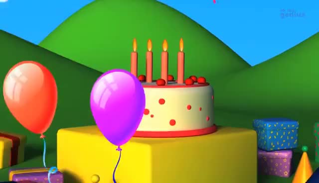 Watch and share Birthday Songs | Happy Birthday Song |Happy Birthday To You GIFs on Gfycat