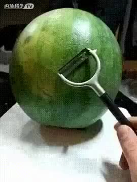 Watch and share Watermelon GIFs and Sculpture GIFs by John D on Gfycat