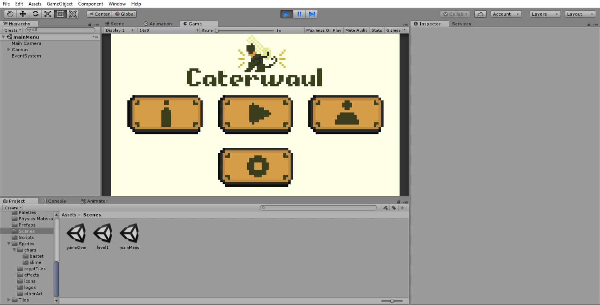 cat, game, gamedev, Caterwaul UI 1 GIFs