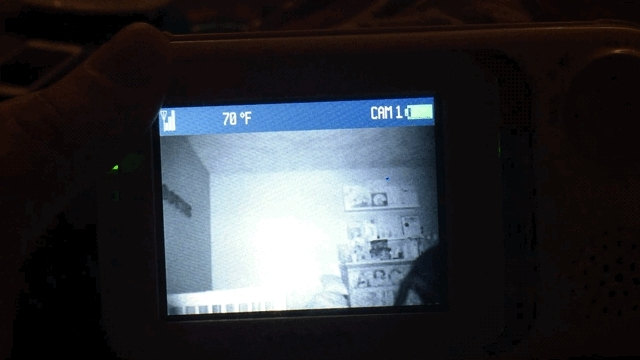 Paranormal, Paranormal Cativity on baby monitor GIFs