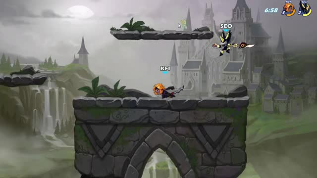 Watch and share Brawlhalla GIFs and Sidra GIFs by K_Finch on Gfycat