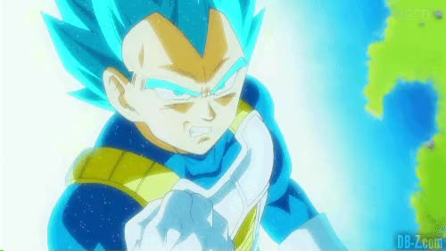 Watch and share Vegeta SSGSS Enrag GIFs on Gfycat