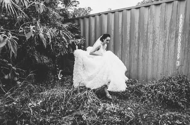Watch and share Black-white-wedding-reception-styling-decorations-rock-a-billy-retro-bride-groom28 GIFs on Gfycat