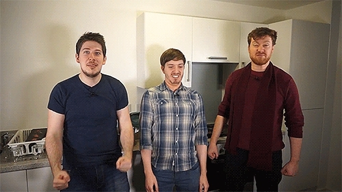 Hat films, alex smith, alsmiffy, chris trott, djh3max, hat lads, hatfilms, hip thrust, ross hornby, soundboard, stunt lads, these guys, trottimus, yog hats, yogs, yogscast, Here's a little soundboard I put together of the guys, I'm s GIFs