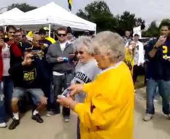 Watch Michigan granny shotgun GIF on Gfycat. Discover more beer, shotgun, tailgate GIFs on Gfycat